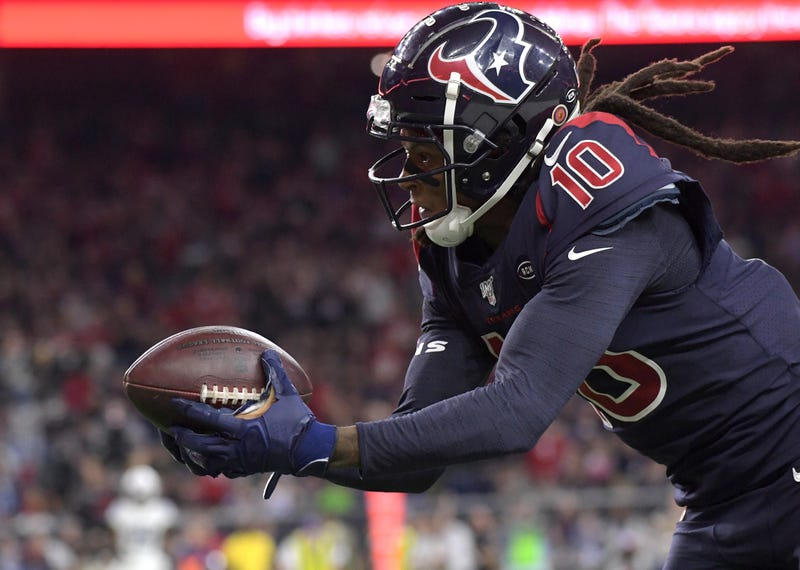 DeAndre Hopkins and the Texans rebounded in a Thursday Night Football win over the Colts.