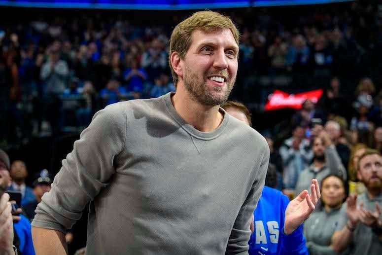 Dirk Nowitzki, Smiling, Mavericks, Game, 2019
