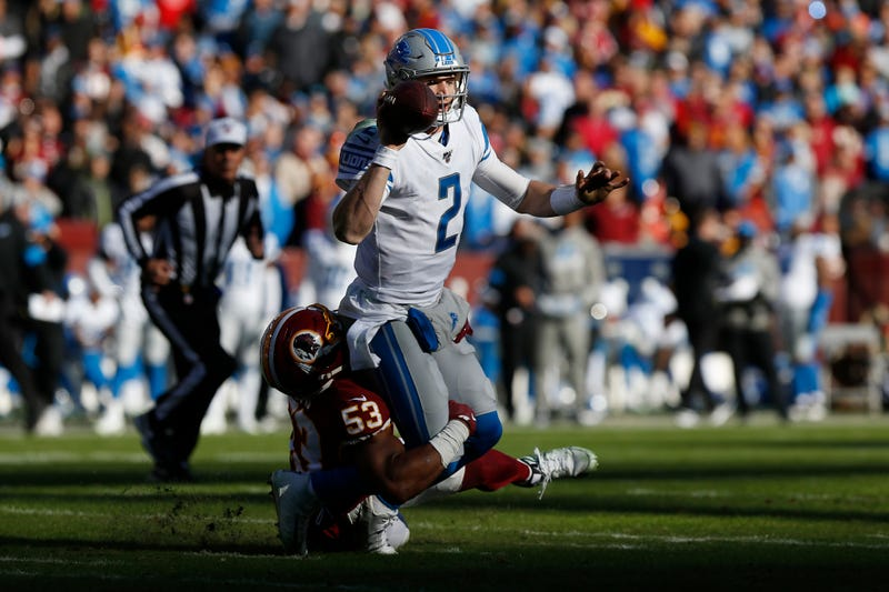 The Lions lost to the lowly Redskins in Week 12.