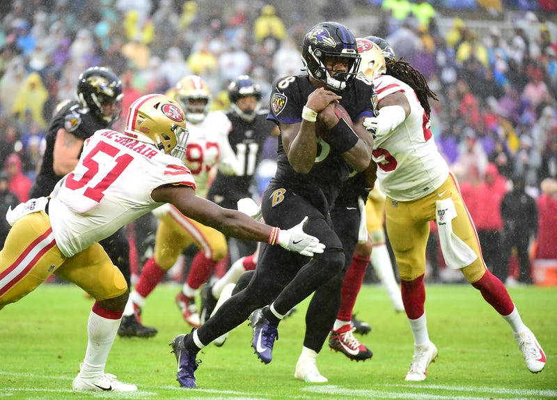 Will the Ravens and 49ers meet in the Super Bowl?