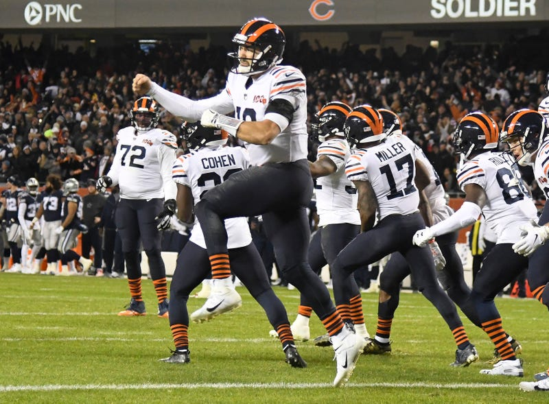 Mitchell Trubisky and the Bears have won consecutive games.