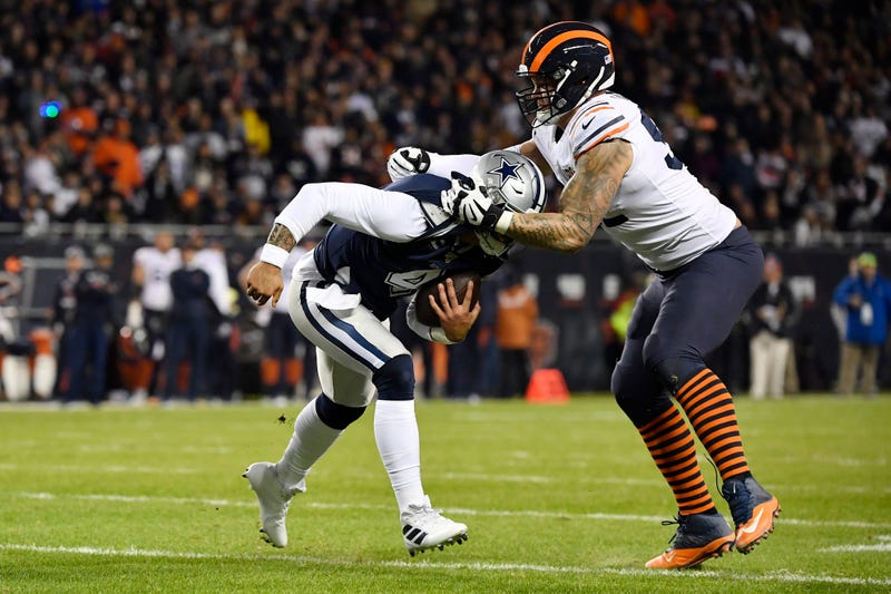 The Cowboys lost to the Bears on Thursday Night Football.