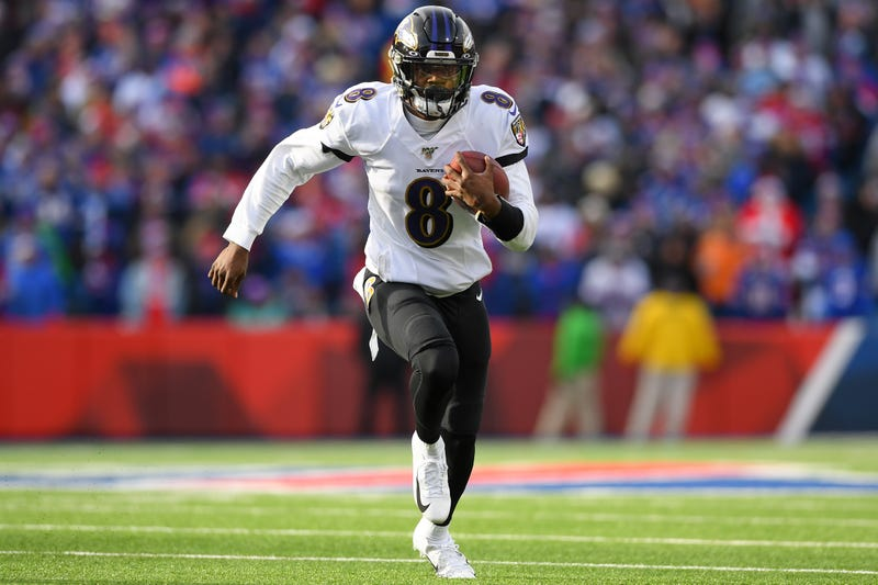 Lamar Jackson and the Ravens haven't lost since September.
