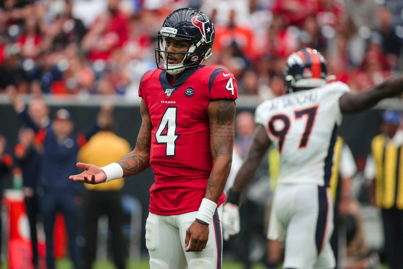 The Texans were upset by the Broncos in week 14.