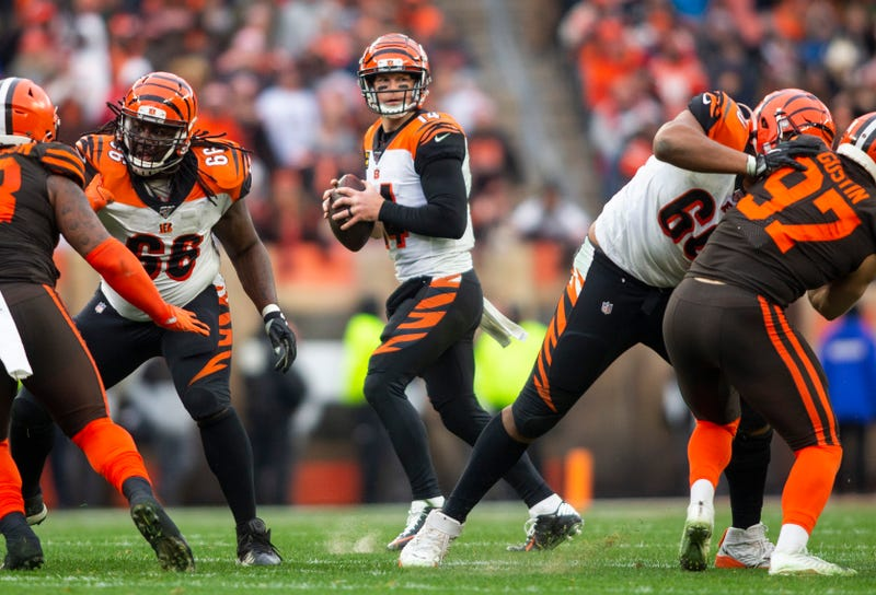 The Bengals lost to the Browns in Week 14.