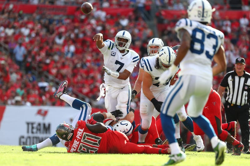 Jacoby Brissett and the Colts have struggled in the second half of 2019.