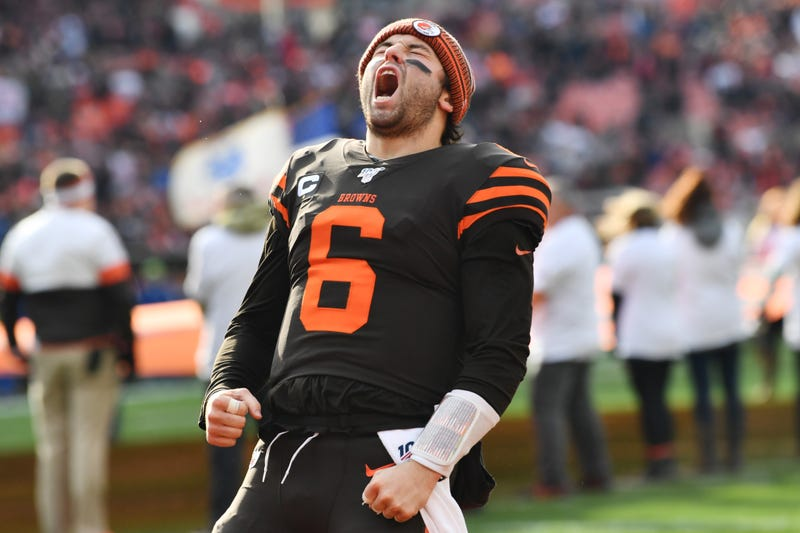Baker Mayfield and the Browns won in Week 14.