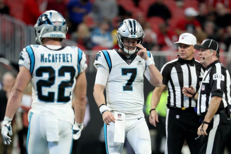 The Panthers lost in Atlanta in Week 14.