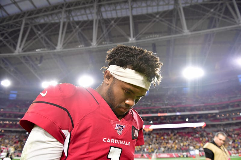 Kyler Murray's rookie season is wrapping up.