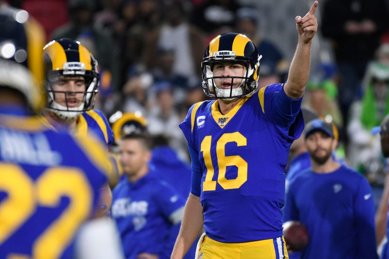 Jared Goff and the Rams are trying to sneak into the postseason.