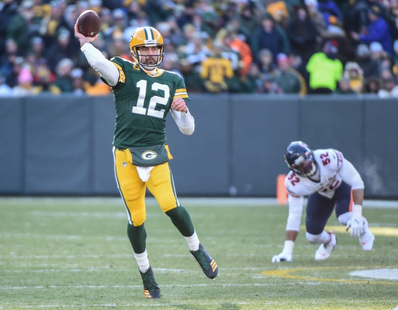 Aaron Rodgers and the Packers defeated the Bears in Week 15.