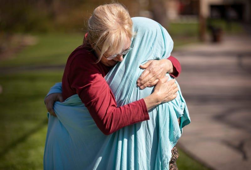 Hugs Are Rare During The Coronavirus Pandemic