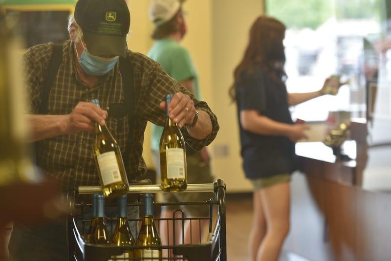 State-run liquor store  in Franklin County.