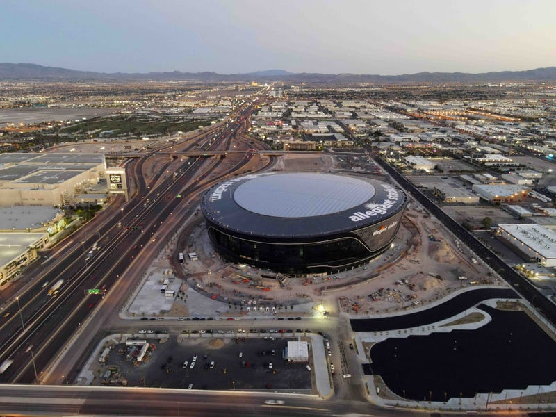 Allegiant Stadium, new home of the Las Vegas Raiders