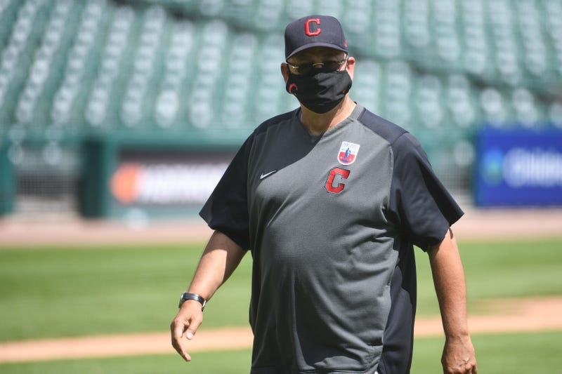 Cleveland Indians manager Terry Francona during the game against the Detroit Tigers at Comerica Park.