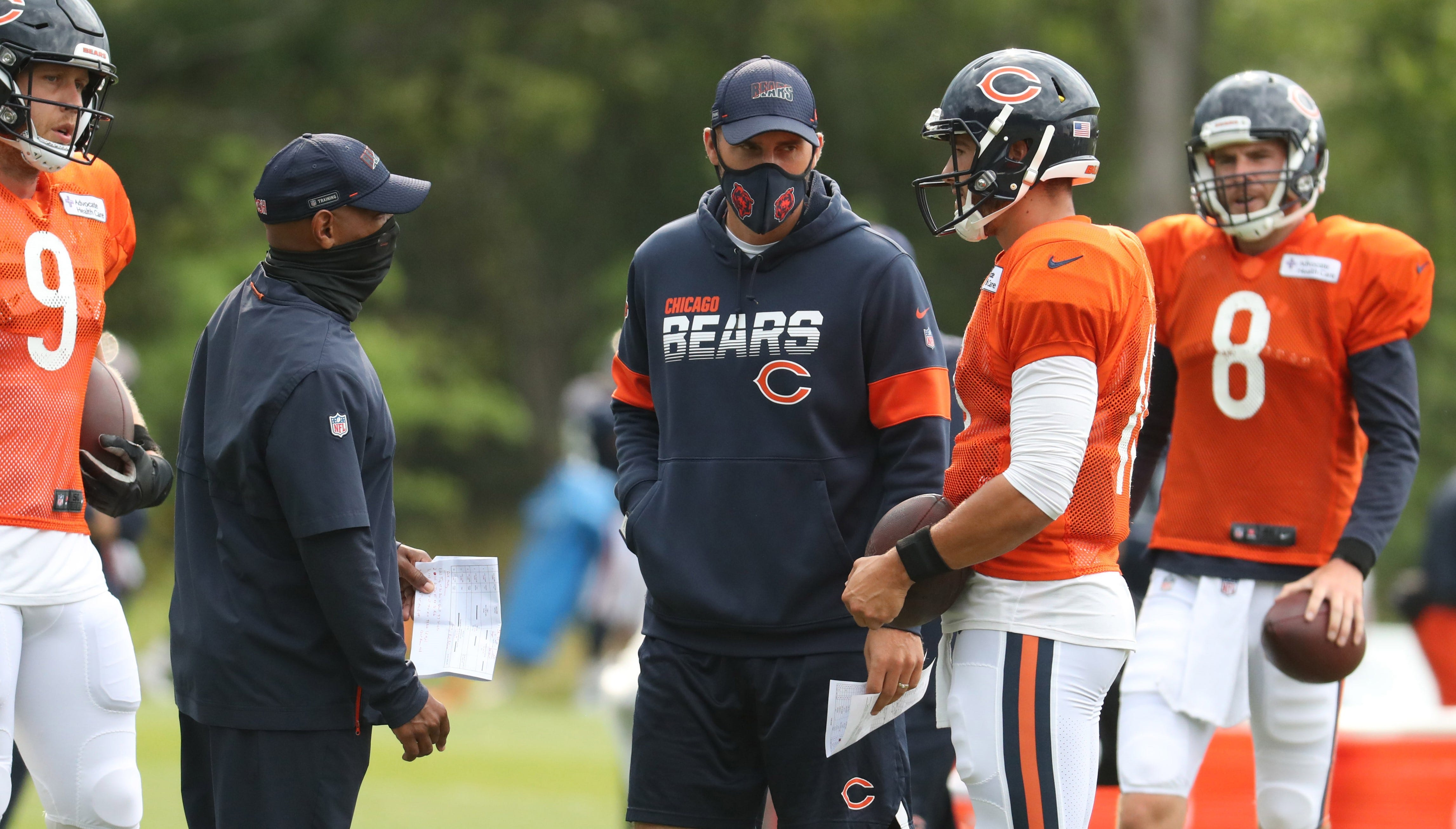 Bears assistant Dave Ragone hired as Falcons' offensive coordinator