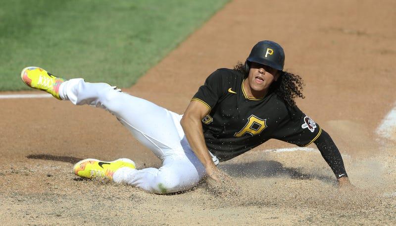 Pirates outfielder Cole Tucker