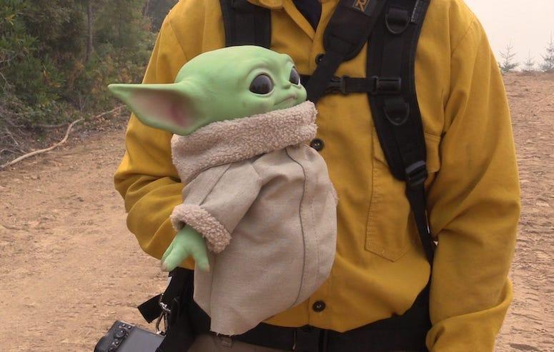 Baby Yoda, Doll