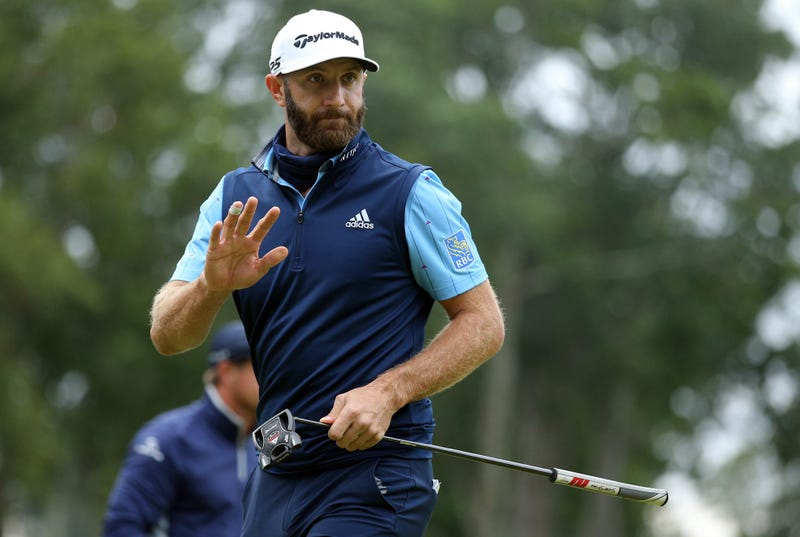 PGA Tour golfer Dustin Johnson