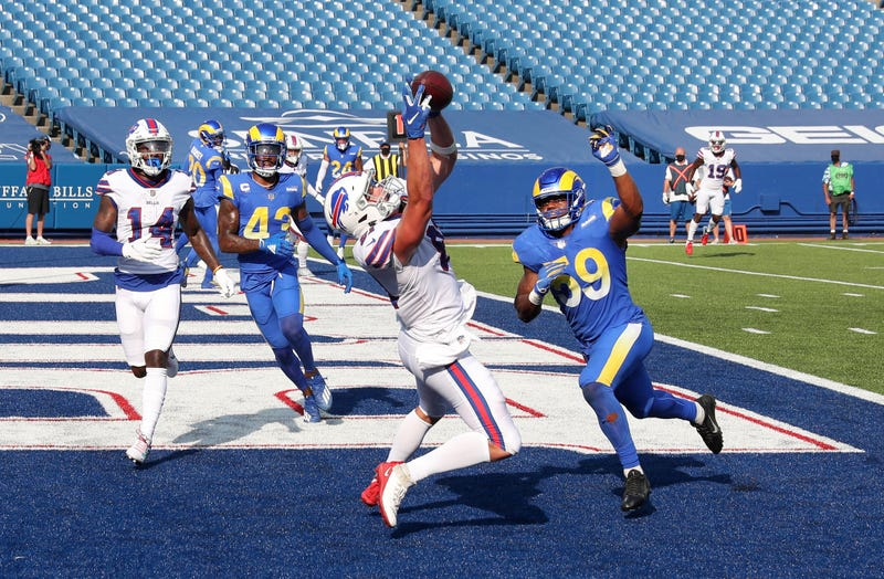 The Bills beat the Rams in front of no fans on September 27