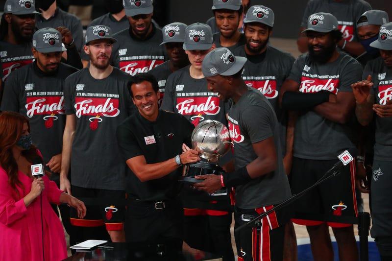 Miami Heat celebrate 2020 Eastern Conference Championship