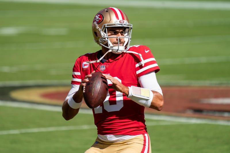 49ers quarterback Jimmy Garoppolo.