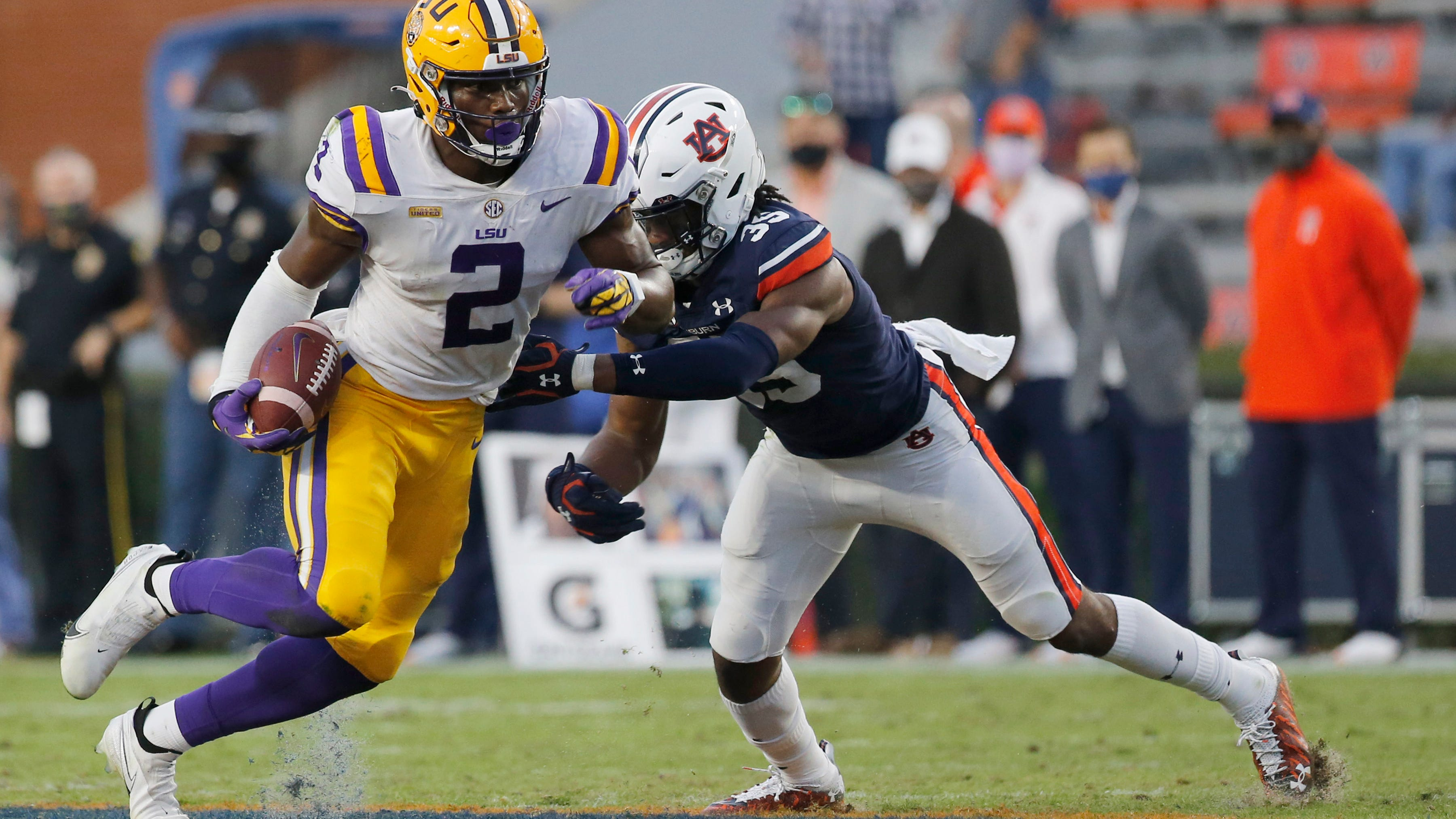 How ex-LSU TE Arik Gilbert landed at Georgia – as a WR: 'It wasn't a constant pursuit'