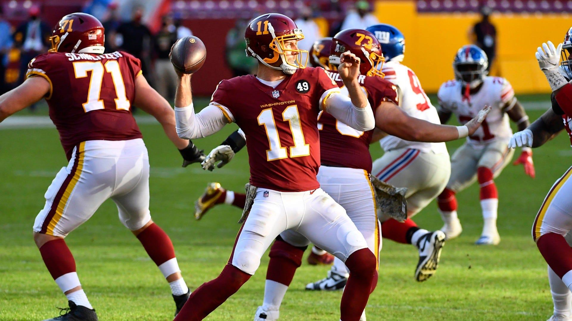 Washington Football S Kyle Allen Suffers Gruesome Leg Injury