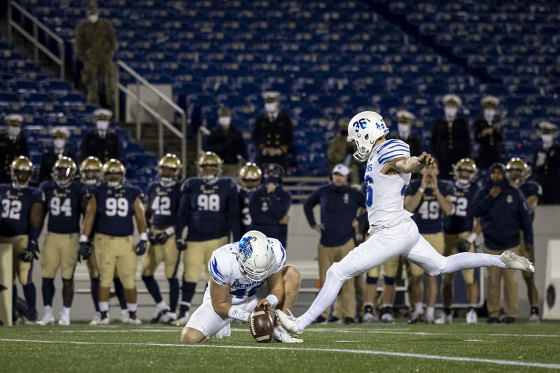 University of Memphis Football beat Navy