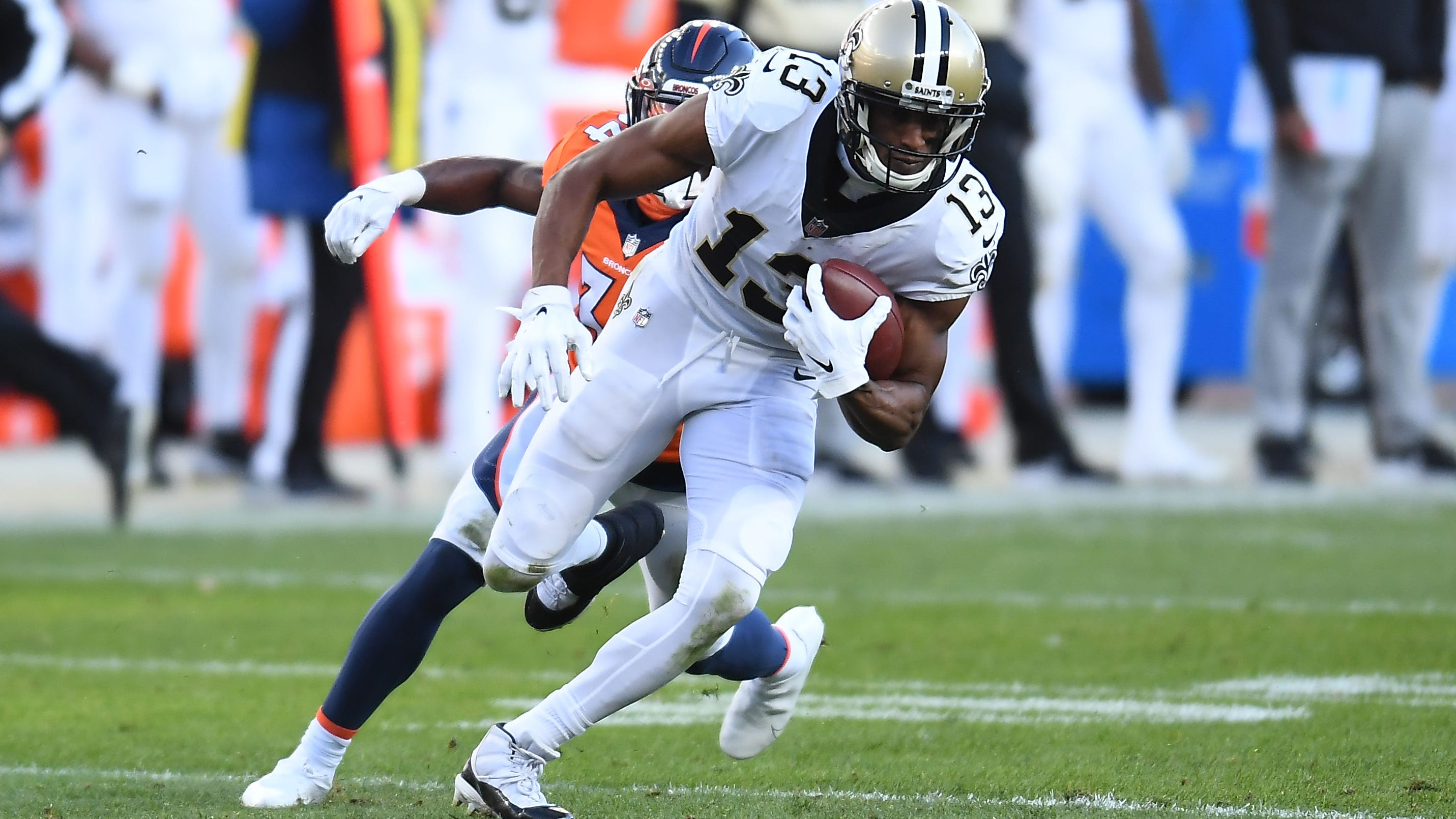 Report: Michael Thomas' June surgery came after attempt to rehab without procedure