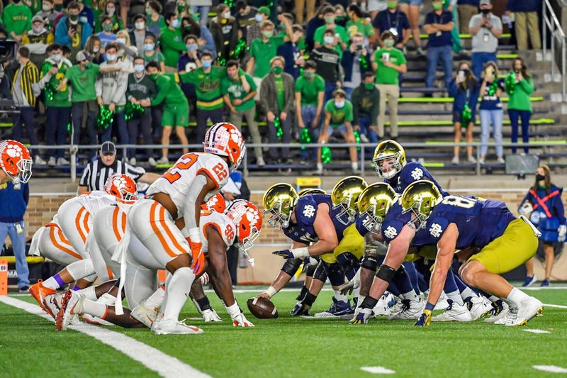 Notre Dame and Clemson face off in the ACC Championship in a rematch of November's Instant Classic in South Bend.