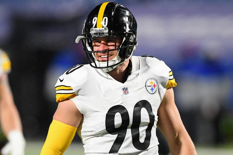 Steelers linebacker T.J. Watt.