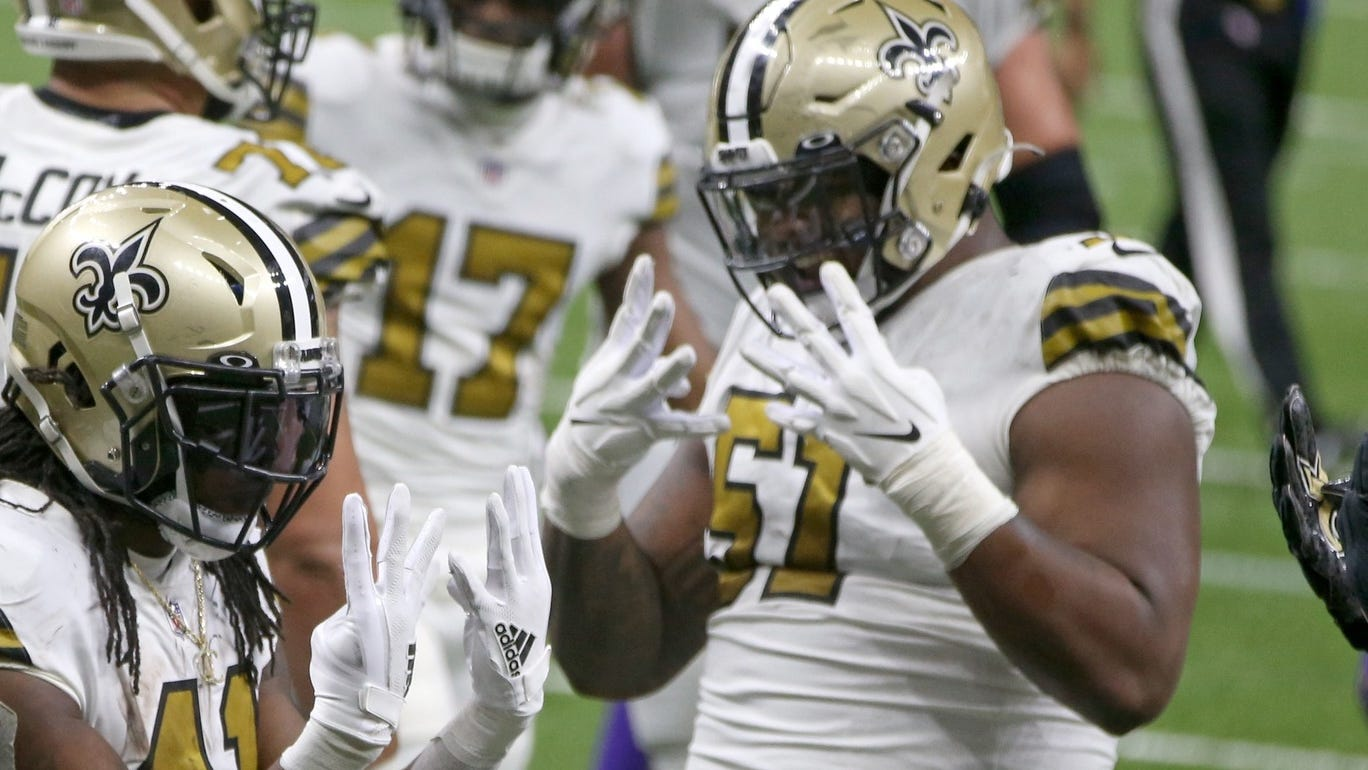 Cesar Ruiz proving Saints right at multiple positions: 'Those guys are always ready'