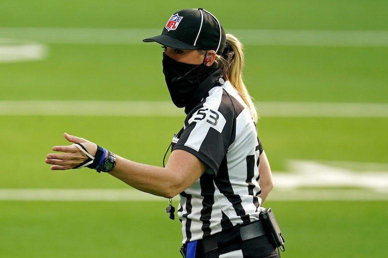 First woman referee nba betting bunga liar abetting