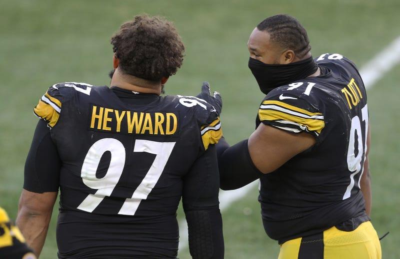 Cameron Heyward with Stephon Tuitt