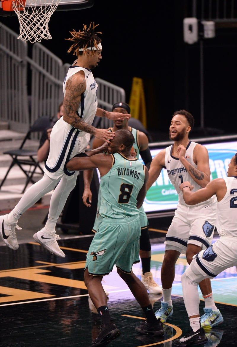 Grizzlies Hornets