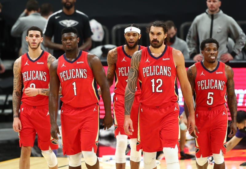 New Orleans Pelicans starting lineup