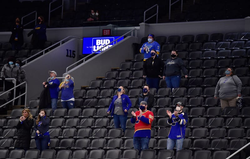 St. Louis Blues fans