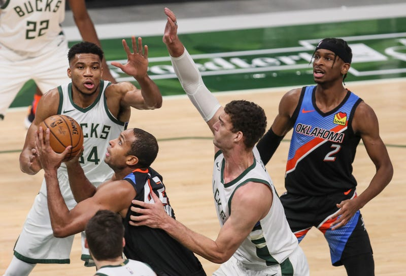 Brook Lopez and Giannis