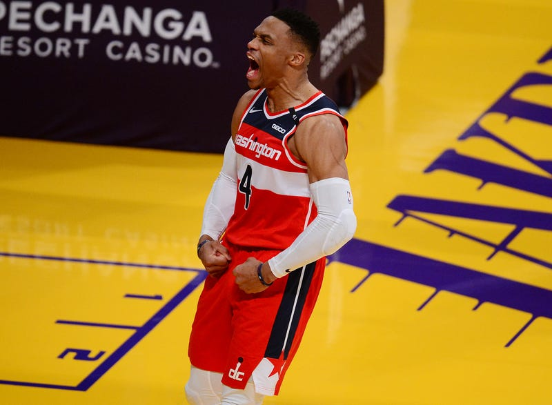 Former Wizards star Russell Westbrook.