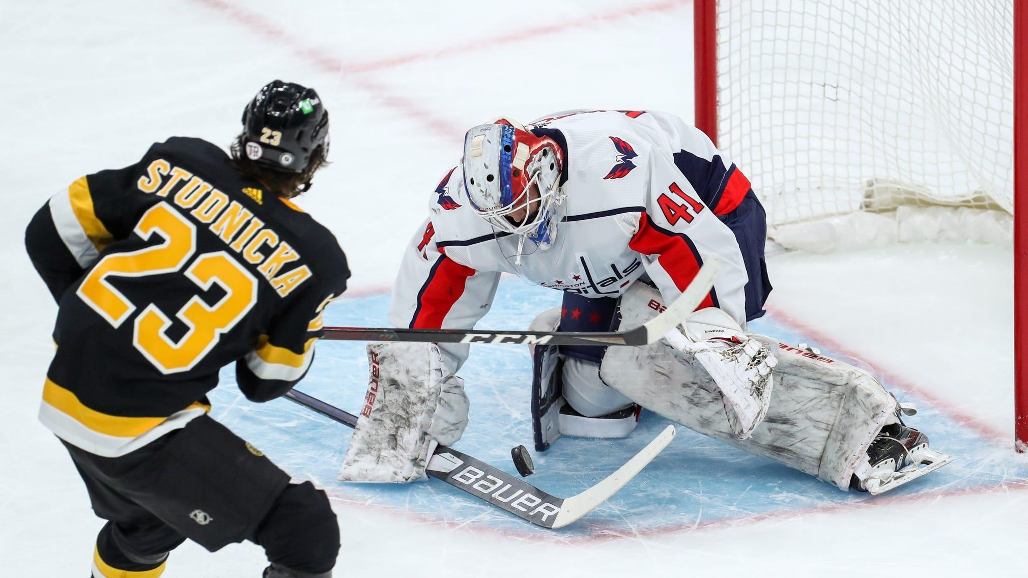 Jack Studnicka's bulk-up 'shocked' even his AHL coach