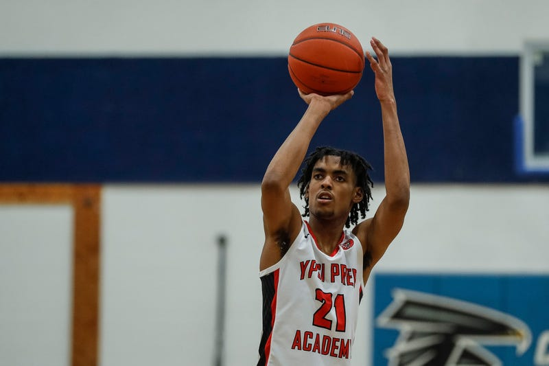 Top high school basketball recruit Emoni Bates.