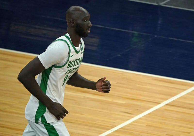 Cleveland Cavaliers center Tacko Fall