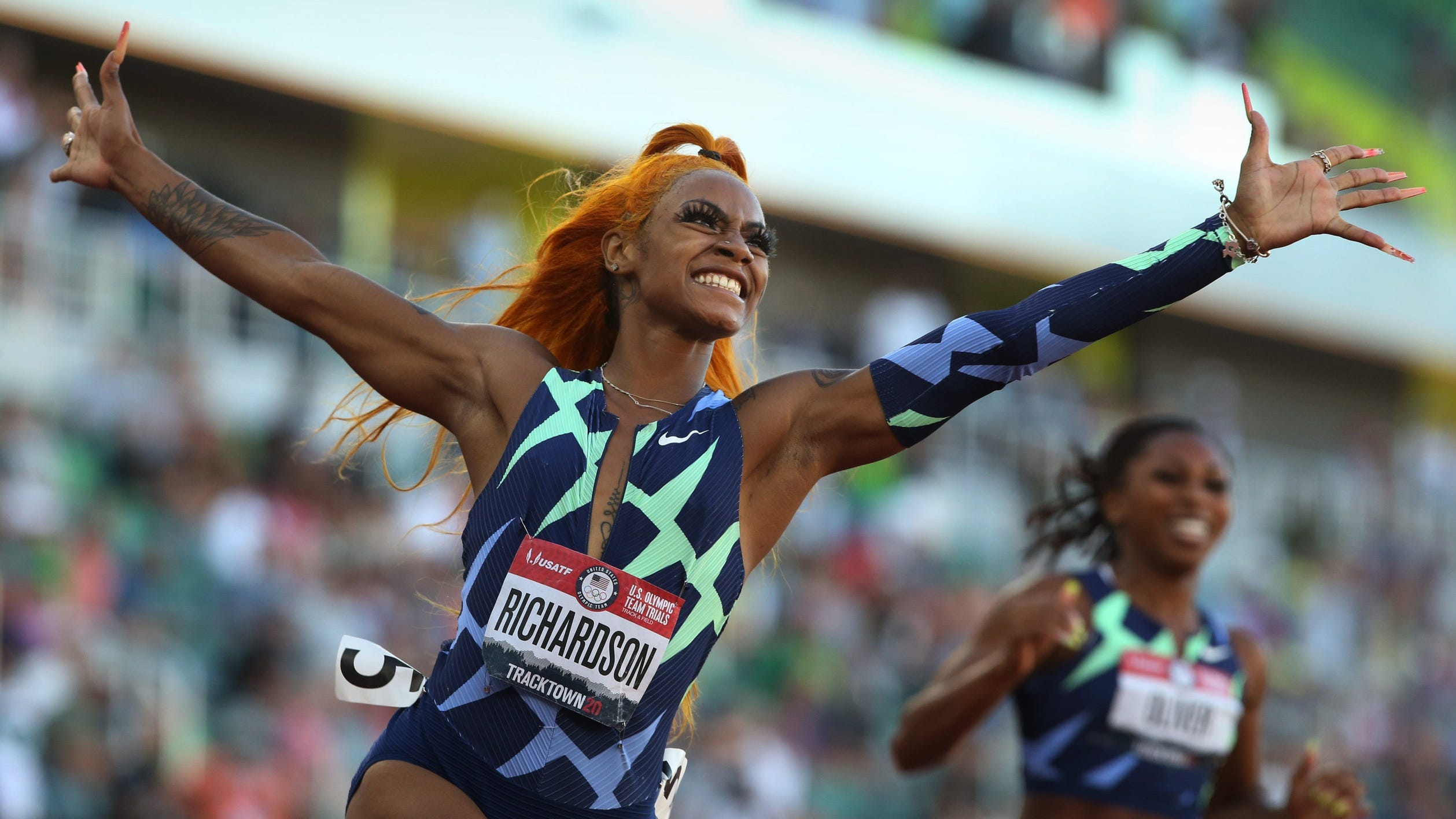Sha'Carri Richardson could miss US Olympic chance for failing drug test