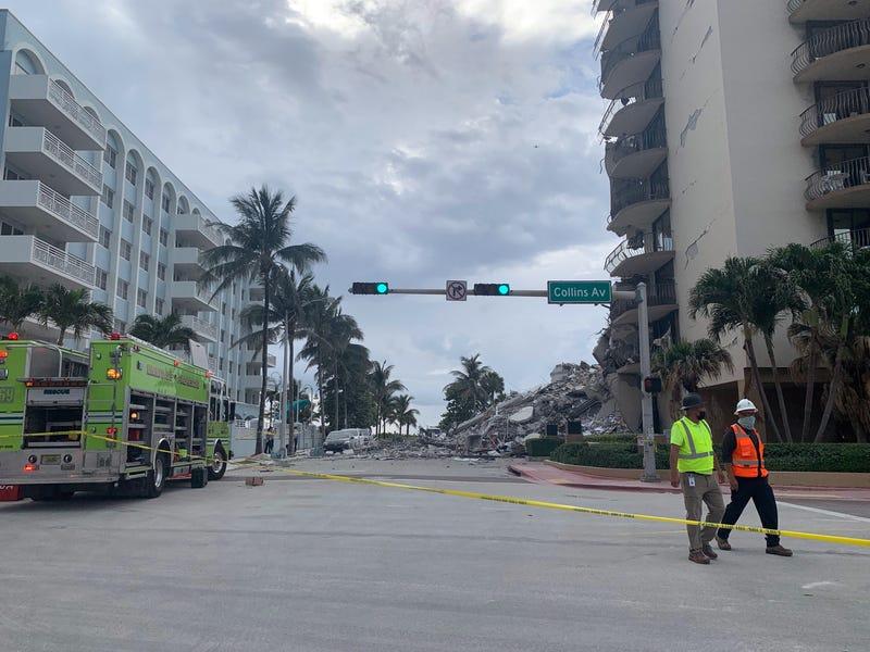 Miami area building collapse