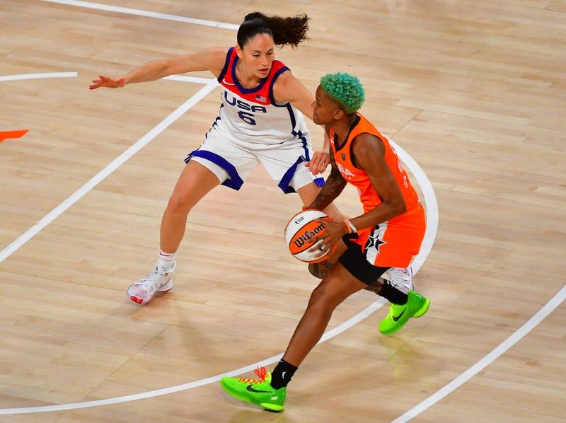 WNBA legend Sue Bird.