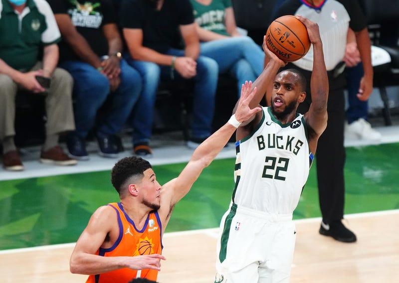 Bucks star Khris Middleton.