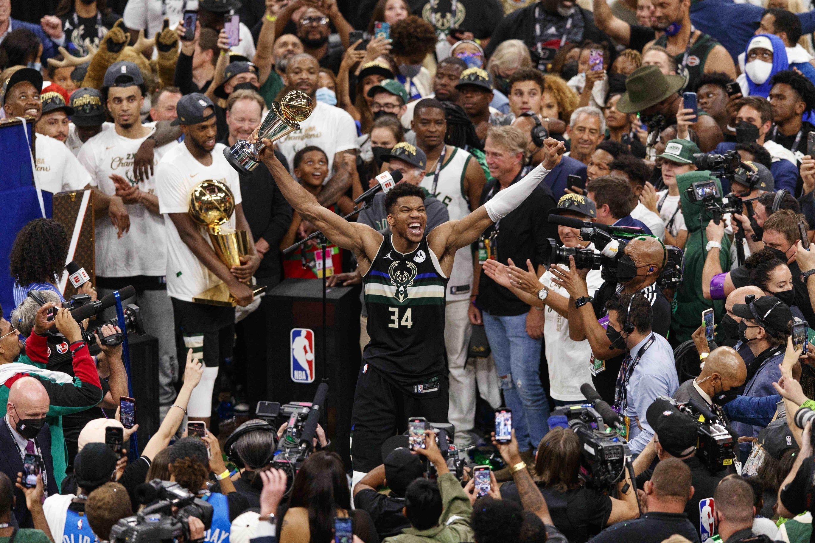 The Milwaukee Bucks are NBA Champs!