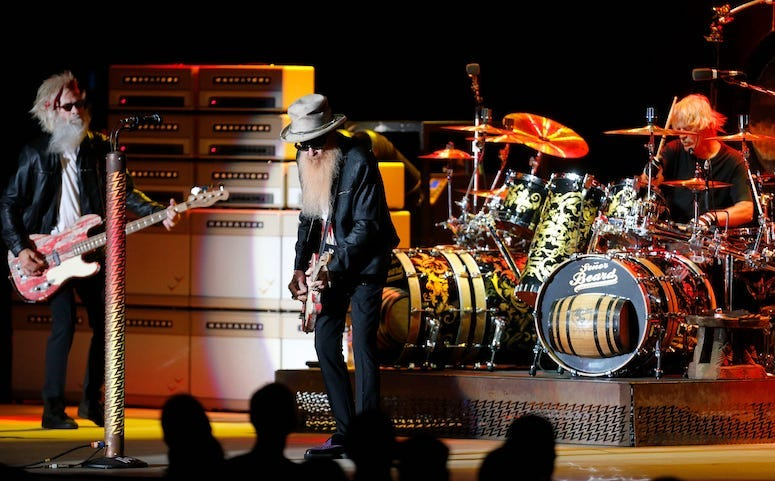 ZZ Top's first concert since death of Dusty Hill