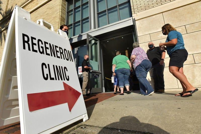 Regeneron clinic in Jacksonville, Florida